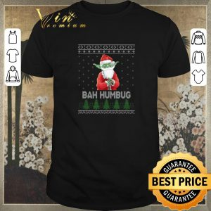 Original Santa Yoda Bah Humbug Ugly Christmas shirt sweater