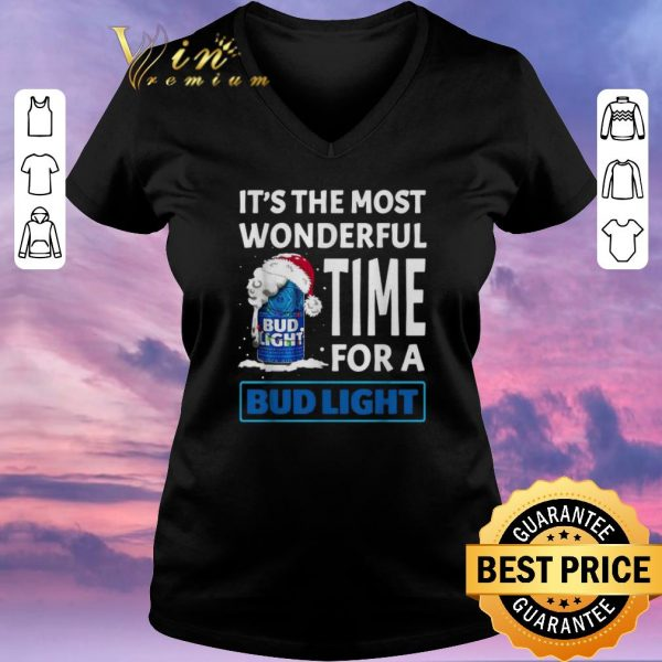 Premium It's the most wonderful time for a Bud Light Christmas shirt sweater