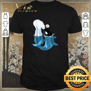Premium Killer Whale kiss love Polar Bear shirt sweater