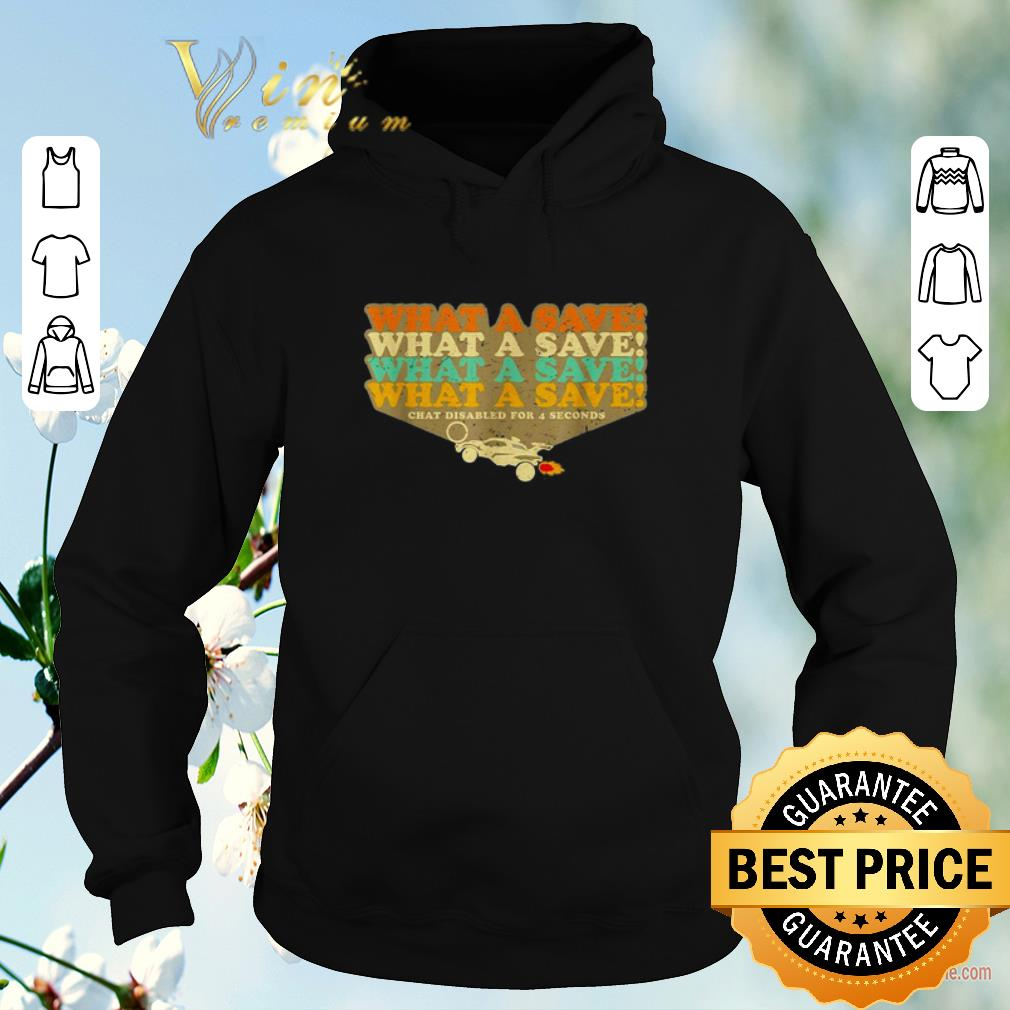 Premium Octane Rocket What a save chat disabled for 4 seconds vintage shirt sweater 4 - Premium Octane Rocket What a save chat disabled for 4 seconds vintage shirt sweater