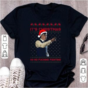 Premium Santa Peaky Blinders It's Christmas so no fucking fighting ugly christmas shirt