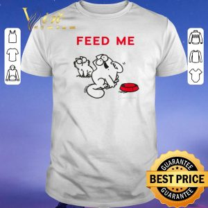 Premium Simon's Cat Feed Me shirt sweater