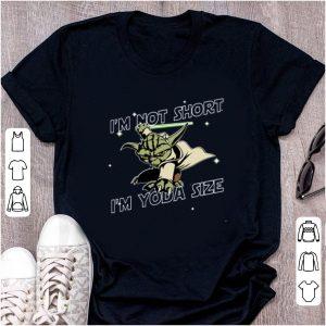 Premium Yoda I'm not short I'm Yoda Size shirt