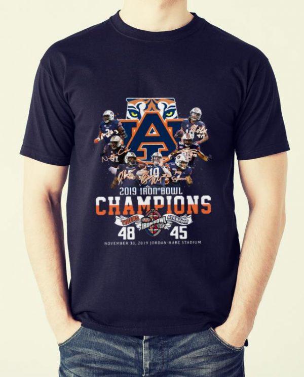 Pretty 2019 Iron Bowl Champions 2019 Auburn Tigers Alabama 48 45 shirt