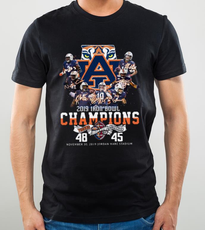 Pretty 2019 Iron Bowl Champions 2019 Auburn Tigers Alabama 48 45 shirt 4 - Pretty 2019 Iron Bowl Champions 2019 Auburn Tigers Alabama 48 45 shirt