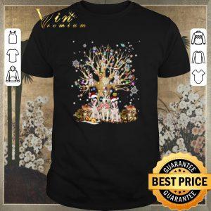Pretty Christmas Tree Dogs Klee Kai Alaskan shirt