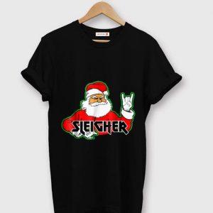 Pretty FUNNY Santa Sleigher Slayer Heavy Metal Ugly Christmas sweater
