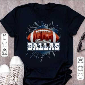 Pretty Football Dallas Skyline Dallas Cowboys shirt