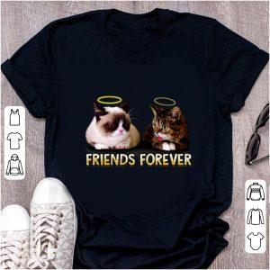 Pretty Grumpy and Lil Bub friends forever shirt