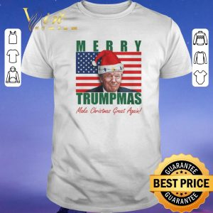 Pretty Merry Trumpmas Make Christmas Great Again Christmas shirt sweater