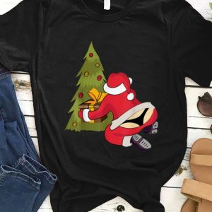 Pretty Santa Claus in Thong Ugly Christmas Xmas Tree Gifts sweater