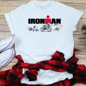 Pretty Snoopy Iron Man Doing Sports shirt