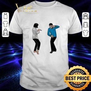 Pretty Spock Fiction Star Trek and Pulp Fiction shirt