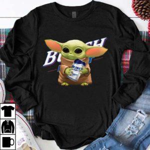 Pretty Star Wars Baby Yoda Hug Busch Light shirt