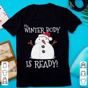 Snowman Winter Body Fat Christmas Chubby Funny Novelty sweater