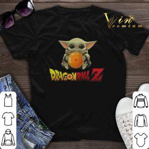 Star Wars Baby Yoda Hug Dragon Ball Z Mandalorian shirt sweater