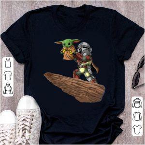 The Mandalorian Boba Fett Baby Yoda The Lion King shirt