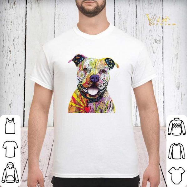 The Mountain Beware of Pit Bulls Dog shirt sweater