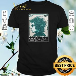 Top Adidas 2019 Bob Dylan Music Art Silk shirt sweater