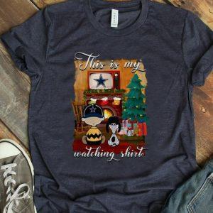 Top Charlie Brown Dallas Cowboys This Is My Hallmark Christmas Movie shirt