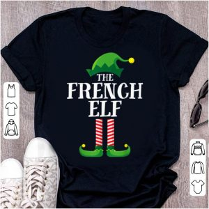 Top French Elf Matching Family Group Christmas Party Pajama sweater