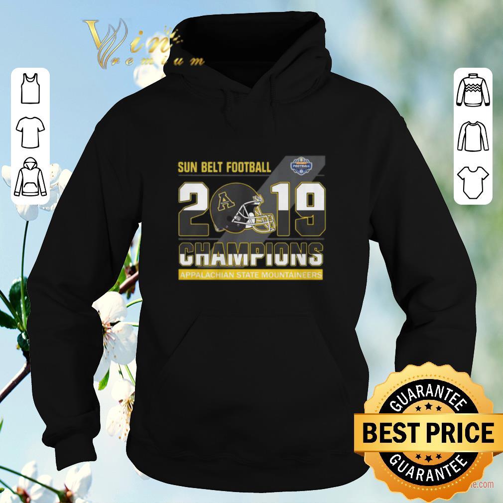 Top Sun Belt Football 2019 Champions Appalachian State Mountaineers shirt sweater 4 - Top Sun Belt Football 2019 Champions Appalachian State Mountaineers shirt sweater