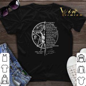 Everyday Glory Lyrics Neil Peart 1952 2020 signature Rush band shirt sweater