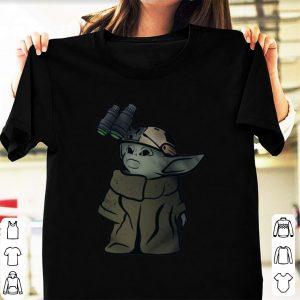 Hot Baby Yoda Soldier shirt