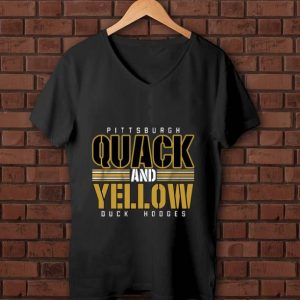 Hot Pittsburgh Quack And Yellow Duck Hodges shirt