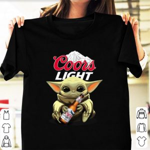 Nice Baby Yoda Hug Coors Light shirt