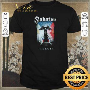 Nice Sabaton Heroes Soldier European Tour 2014-2015 shirt sweater