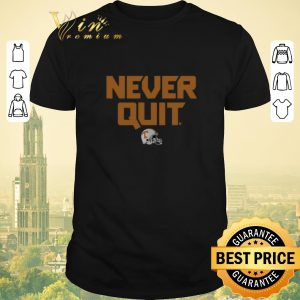 Pretty Tennessee Volunteers Never Quit shirt sweater