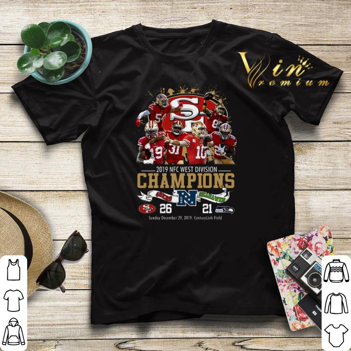 San Francisco 49ers 2019 NFC West Division Champions Seahawks shirt sweater 4 - San Francisco 49ers 2019 NFC West Division Champions Seahawks shirt sweater
