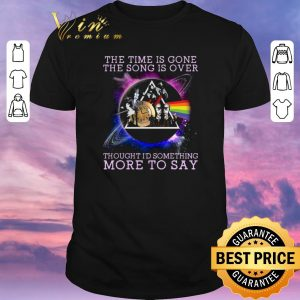Top Time lyrics Pink Floyd the time is gone the song is over shirt sweater