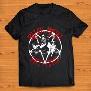 Awesome Black Metal and Kittens shirt