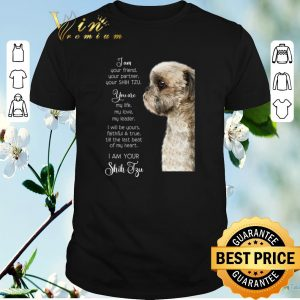 Awesome I am Your Friend Your Partner Your Shih Tzu you are my life love shirt sweater