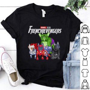 Awesome Marvel Frenchie Bulldog Frenchievengers Avengers Endgame shirt