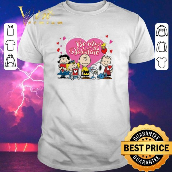 Awesome Peanuts characters Be my Valentine Snoopy Charlie Brown shirt sweater