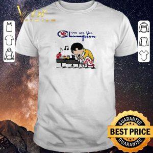 Funny Freddie Mercury We Are The Champion Kansas City Chiefs shirt sweater