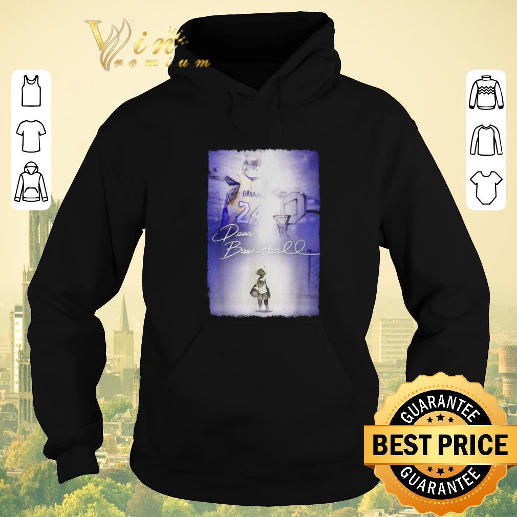 Funny Rip Kobe Bryant Dear Basketball signature shirt sweater 4 - Funny Rip Kobe Bryant Dear Basketball signature shirt sweater
