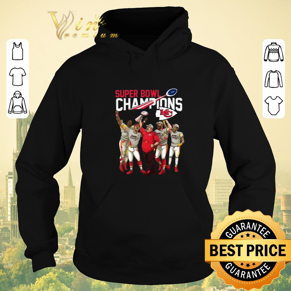 Funny Super Bowl LIV Champions Kansas City Chiefs shirt sweater 4 - Funny Super Bowl LIV Champions Kansas City Chiefs shirt sweater