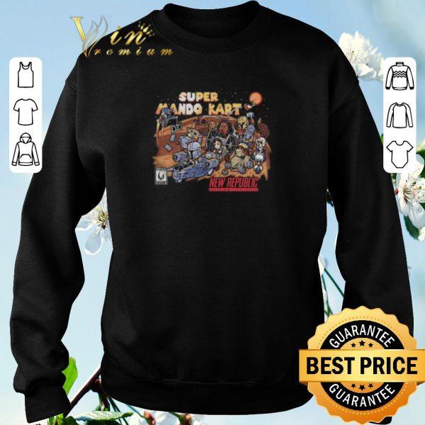 Funny Super mario kart new republic The Mandalorian shirt sweater