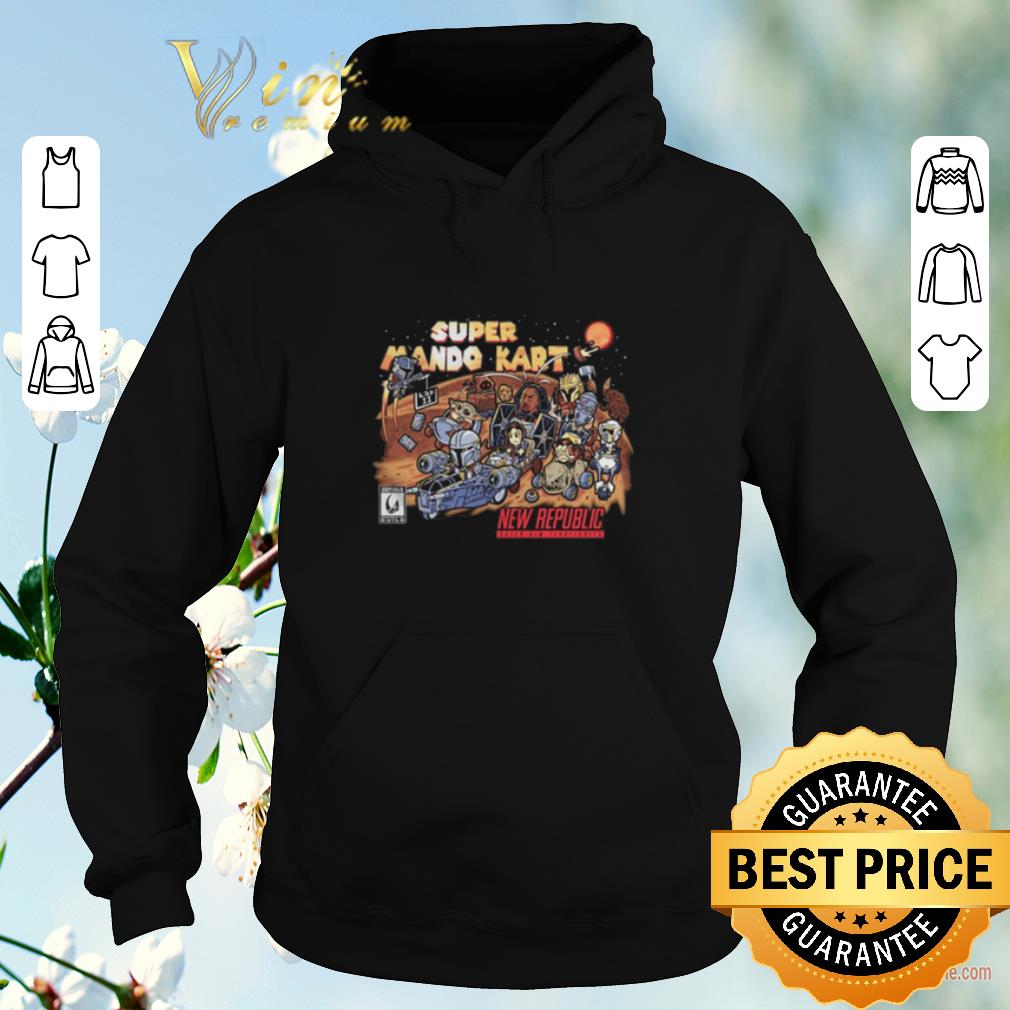Funny Super mario kart new republic The Mandalorian shirt sweater 4 - Funny Super mario kart new republic The Mandalorian shirt sweater