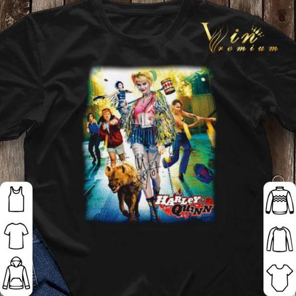 Harley Quinn 2020 Birds Of Prey Poster Signatures shirt sweater