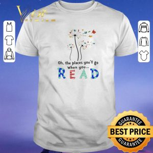Hot Flower oh the places you'll go when you read shirt sweater
