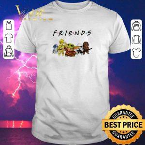 Nice Baby Yoda R2D2 P3PO Friends Star Wars shirt sweater