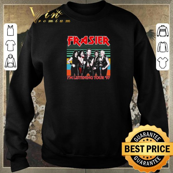Nice Frasier TV Show I'm Listening Tour '97 Vintage shirt sweater