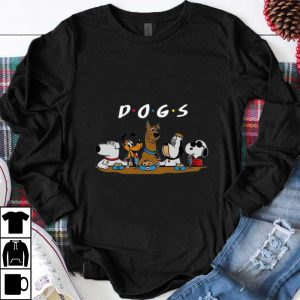 Nice Friends Dogs Party shirt