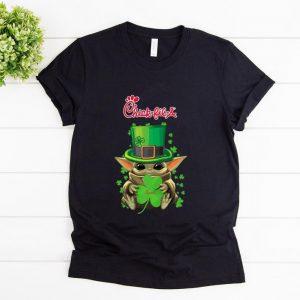 Official Baby Yoda Chick-Fil-A Shamrock St.Patrick's Day shirt