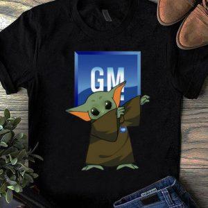Official Baby Yoda Dabbing General Motors shirt